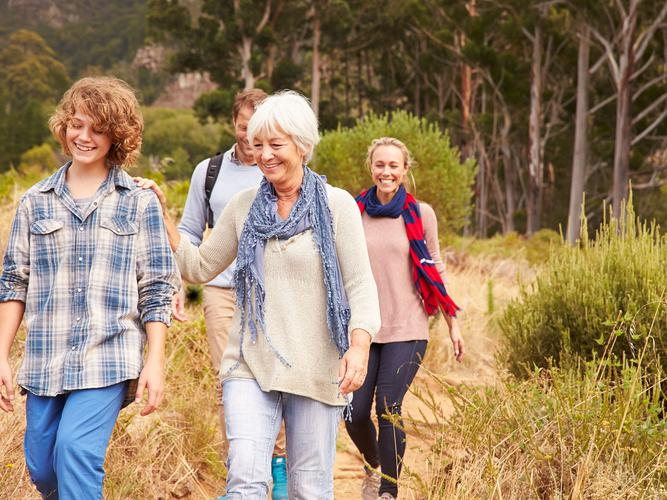 A new dementia friendly nature trail is being developed in Ballarat, Victoria (Source: Shutterstock)