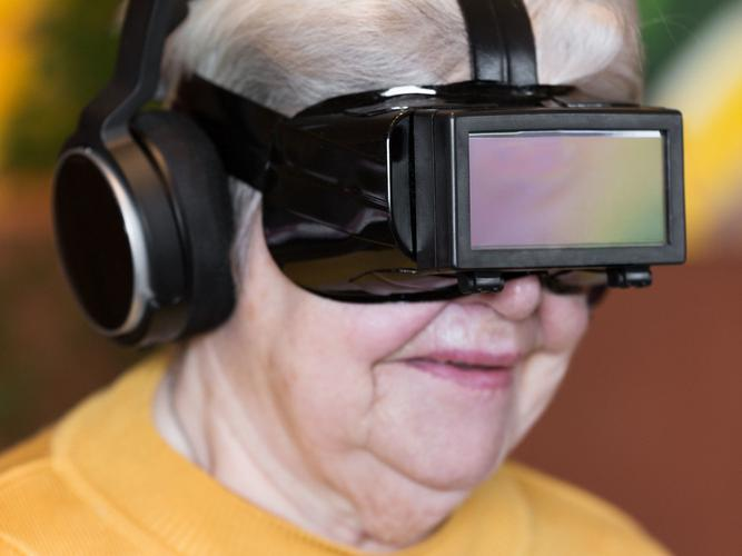 Technology continues to be a huge focus in aged care (Source: Shutterstock)