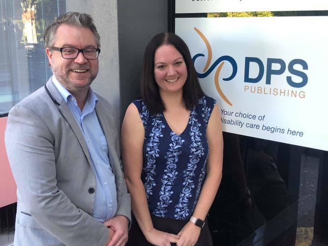 Mark Ogden, Director of Strategic Partnerships with newly appointed Chief Executive Officer, Michelle Beech.