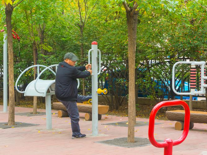 Seniors playgrounds are already popular in China and Europe - could Australians find them just as beneficial? (Source: xiaoke wei/Shutterstock)