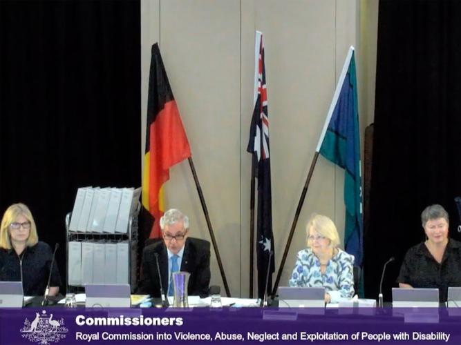 Mr Sackville says that the hearing will examine the response to COVID-19 and any systemic issues that have been impacting people with disability.  (Source: Disability Royal Commission)