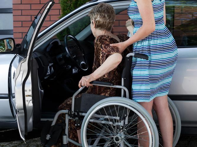 Two people with disabilities have had close calls after being left alone in vehicles in hot weather (Source: Shutterstock)