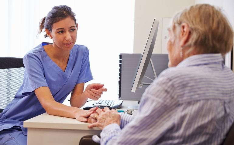 A new training program will give GP nurses the skills to start conversation about dying with patients with empathy, care and compassion