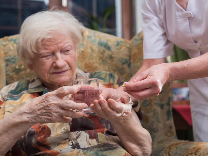 The use of antimicrobials in aged care is an issue for consideration in prescribing practice (Source: Shutterstock)