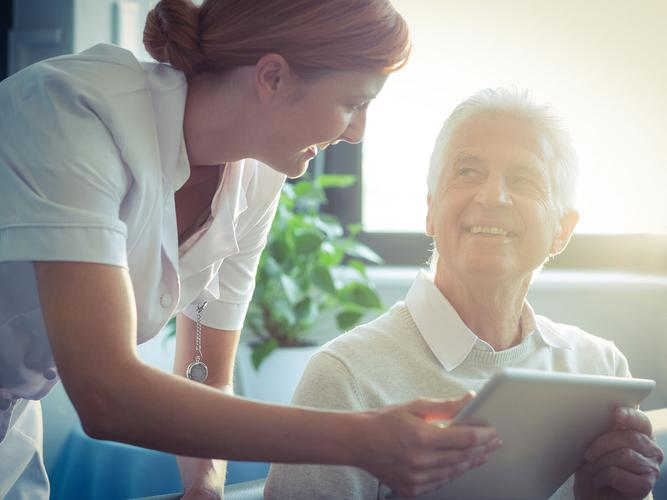 The Procura Aged and Community Care Software System will allow carers to concentrate on caring (Source: Shutterstock)