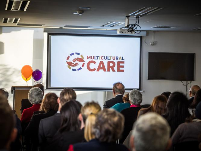 Multicultural Care's new branding is designed to reflect the organisation is inclusive, regardless of cultural background (Source:  Ben Williams Photography)