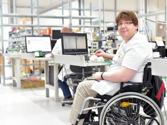 Less than 25% of people with disability with an NDIS plan are in work. (Source: Shutterstock)