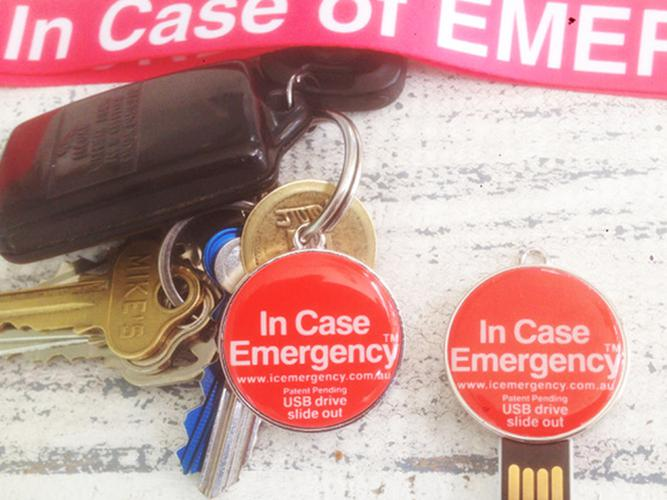 Carry your 'In Case of Emergency' USB ID with you (Source: I.C Emergency)