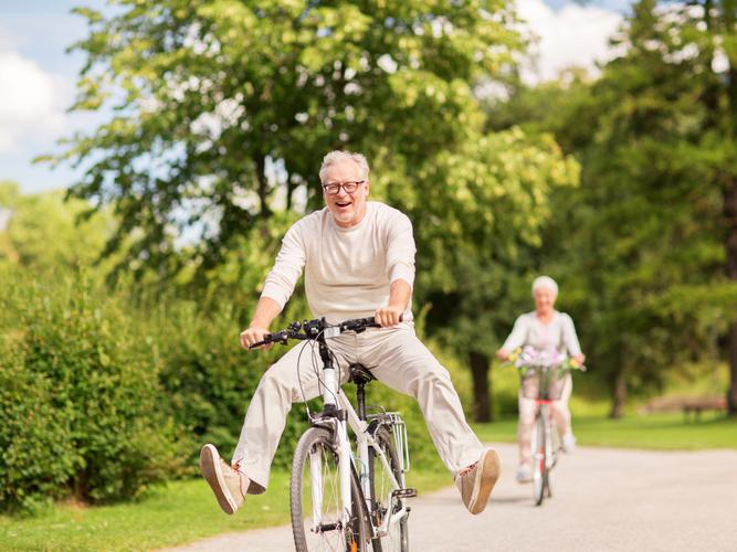 These days it seems age has become just that, a number, and it's more about how you are feeling physically and mentally which determines whether you are old. [Source: Shutterstock]
