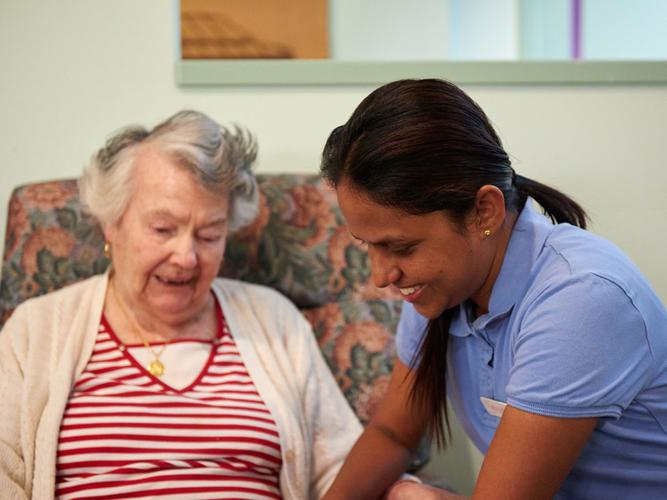 Martin Luther Homes are adapting a new model of care for their aged care residents (Source: Martin Luther Homes)