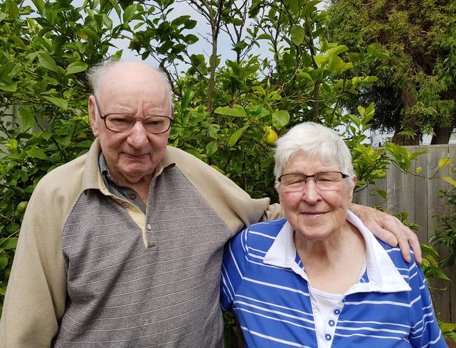 Warrnambool residents Wallace and Gloria feared declining health meant an inevitable move into aged care. (Source: Villa Maria Catholic Homes)