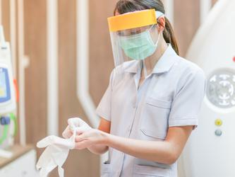 In the recently announced COVID-19 response plan​​ for people with a disability, Cabinet Ministers approved access to the national medical stockpile of PPE. (Source: Shutterstock)