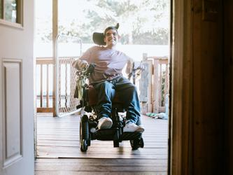 In 2008, the building industry set an aspirational target of all housing being accessible by 2020, however, less than five percent of houses built were accessible. [Source: iStock]