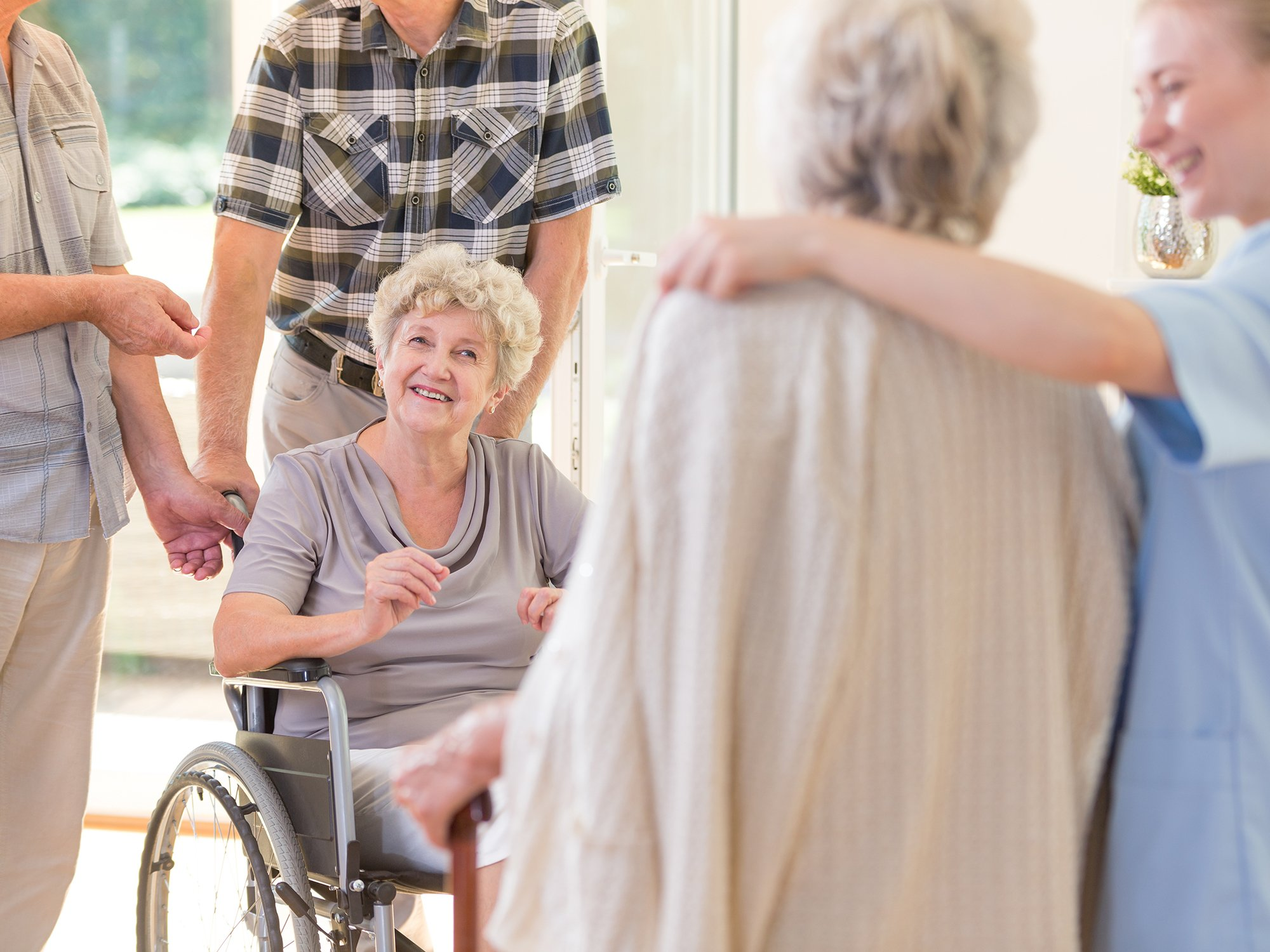 Daily living in a nursing home